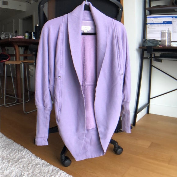 Wilfred Diderot cardigan in light purple